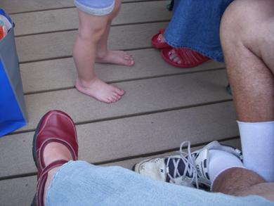 SH feet